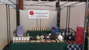 Pure Puer Tea at the 2013 New Living Expo, April 26-28, San Francisco