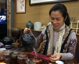 Puer Tea in Chengdu