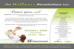 Pure Puer Tea at the Wellness Revolution Fair Sat Oct 15, 11-3 Mill Valley, CA