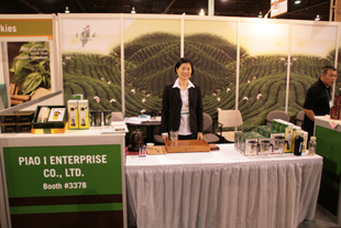 Piao I at the 2009 World Tea Expo