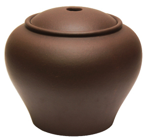 "Lu Yi Yixing Clay Container<br><font color=""#cc6600"">Sold Out</font>"