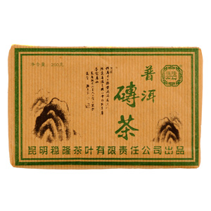 2007 Wenlong Green Puer Tea Brick
