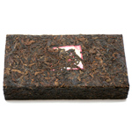 2009 Jin Yu Xuan Black Puer Tea Brick 1000g