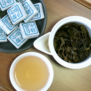 2010 Meng Song Green Puer Tea Mini Tuocha 8g