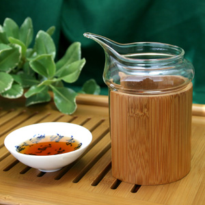 Bamboo Grip Pitcher