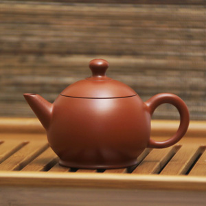 "Chen Yu Zhuang Taiwan Clay Teapot E<br><font color=""#cc6600"">Sold Out</font>"