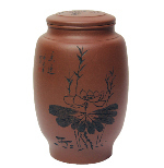 Mei Lian Yixing Clay Container