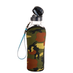 Piao I PC-503 580cc Travel Buddy® with auto-straw (neoprene bottle jacket included)
