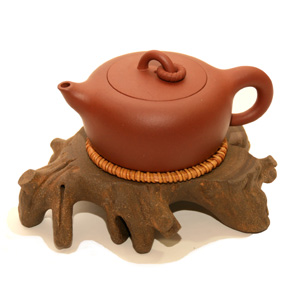 Tree Yixing Clay Teapot Base