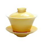 "Yellow Gaiwan<br><font color=""#cc6600"">Sold Out</font>"