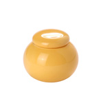 Yellow Pearl Tea Jar